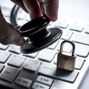 Large healthcare data breaches caused by hacking or IT incidents